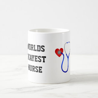 Worlds Okayest Nurse Coffee Mug
