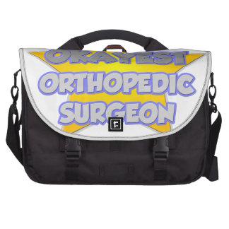 World's Okayest Orthopedic Surgeon .. Joke Laptop Bags