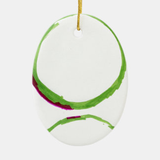 Worlds Reflections Ceramic Ornament