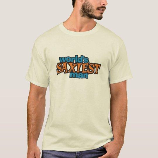 World's Saxiest Man T-Shirt