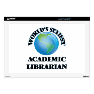 World's Sexiest Academic Librarian Laptop Decals