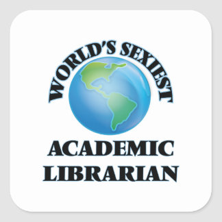 World's Sexiest Academic Librarian Stickers