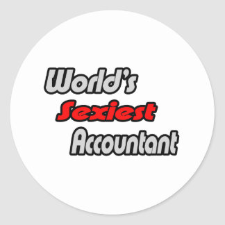 World's Sexiest Accountant Stickers