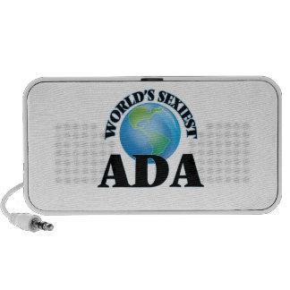 World's Sexiest Ada Laptop Speakers
