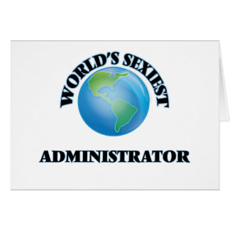 World's Sexiest Administrator Card