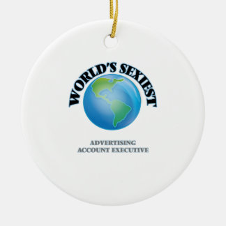 World's Sexiest Advertising Account Executive Ornament