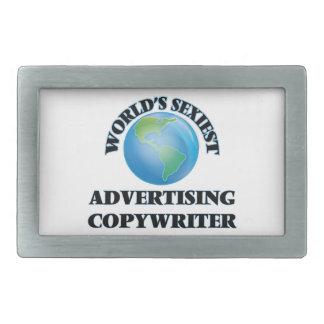 World's Sexiest Advertising Copywriter Belt Buckle
