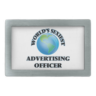 World's Sexiest Advertising Officer Belt Buckle