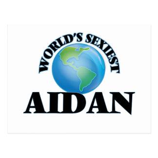 World's Sexiest Aidan Postcards