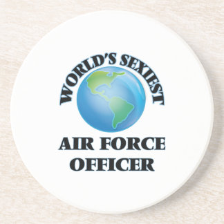 World's Sexiest Air Force Officer Coasters