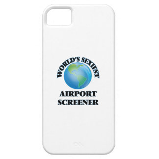 World's Sexiest Airport Screener iPhone 5 Cover