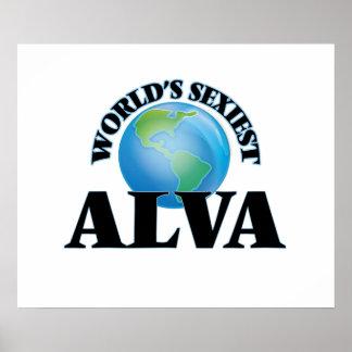 World's Sexiest Alva Print