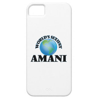 World's Sexiest Amani iPhone 5 Cover