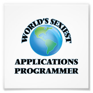 World's Sexiest Applications Programmer Photo