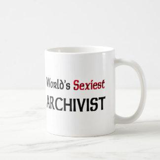 World's Sexiest Archivist Mugs