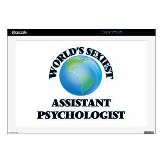 """World's Sexiest Assistant Psychologist 17"""" Laptop Decals"""