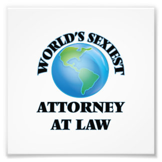 World's Sexiest Attorney At Law Photograph