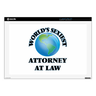 World's Sexiest Attorney At Law Laptop Skins