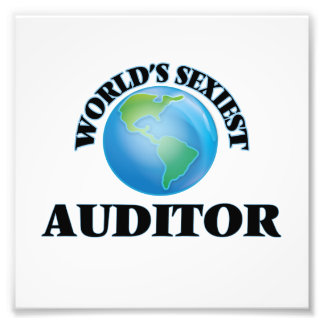 World's Sexiest Auditor Photograph