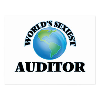 World's Sexiest Auditor Post Cards