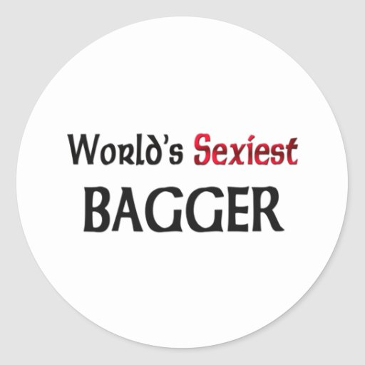 World's Sexiest Bagger Stickers