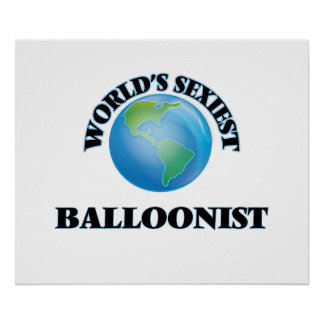 World's Sexiest Balloonist Posters