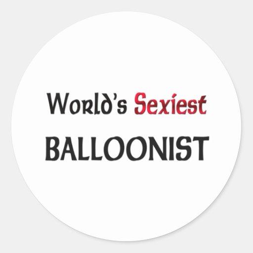 World's Sexiest Balloonist Stickers