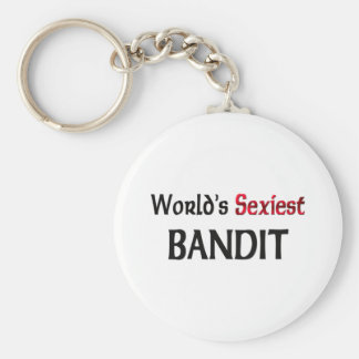 World's Sexiest Bandit Key Chains