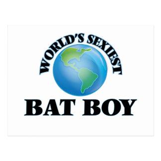 World's Sexiest Bat Boy Postcards