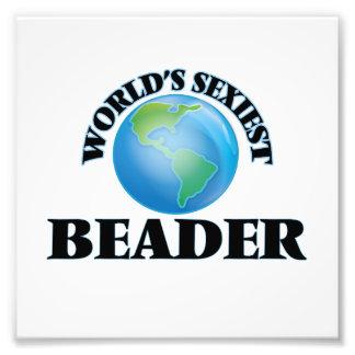 World's Sexiest Beader Photographic Print