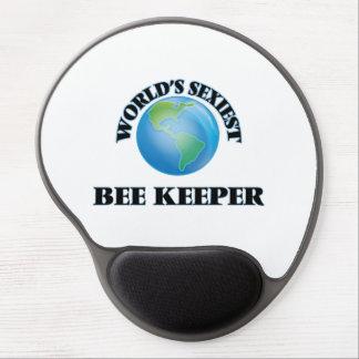 World's Sexiest Bee Keeper Gel Mouse Mat