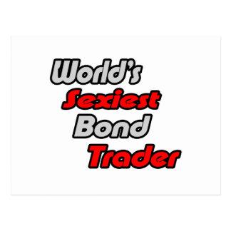 World's Sexiest Bond Trader Postcard