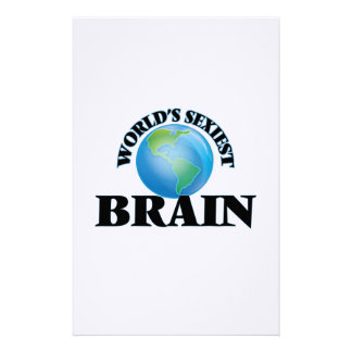 World's Sexiest Brain Personalized Stationery
