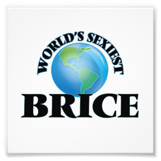 World's Sexiest Brice Photographic Print