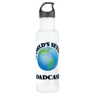 World's Sexiest Broadcaster 24oz Water Bottle