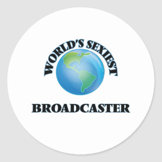 World's Sexiest Broadcaster Sticker