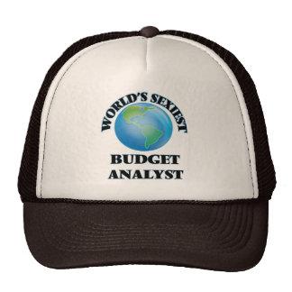 World's Sexiest Budget Analyst Trucker Hat