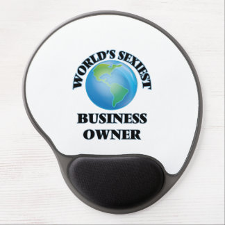 World's Sexiest Business Owner Gel Mouse Pad