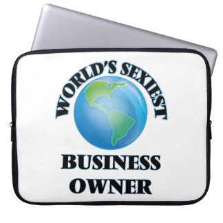 World's Sexiest Business Owner Laptop Sleeve