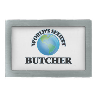 World's Sexiest Butcher Rectangular Belt Buckle