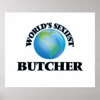 World's Sexiest Butcher Print