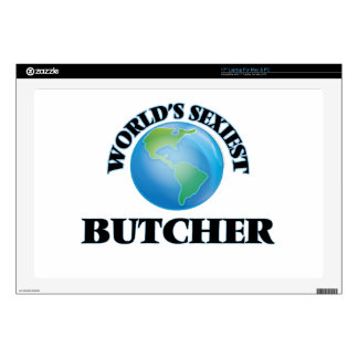 """World's Sexiest Butcher Skins For 17"""" Laptops"""