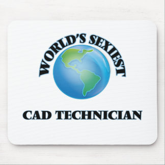 World's Sexiest Cad Technician Mouse Pad