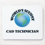 World's Sexiest Cad Technician Mousepad