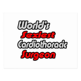 World's Sexiest Cardiothoracic Surgeon Postcard