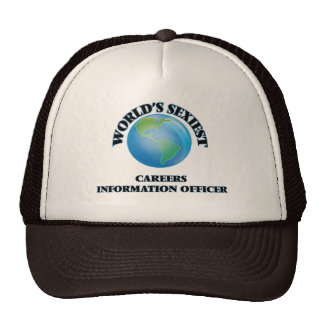 World's Sexiest Careers Information Officer Trucker Hat