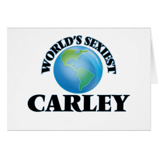 World's Sexiest Carley Cards