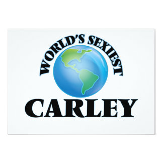 World's Sexiest Carley Invites