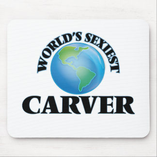 World's Sexiest Carver Mouse Pad
