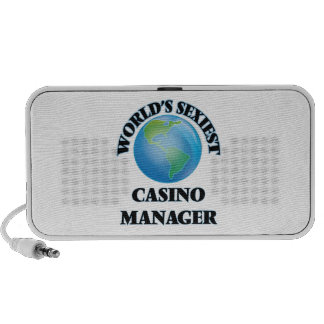 World's Sexiest Casino Manager Portable Speaker